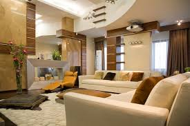 Living Rooms With Soaring Story  Cathedral Ceilings Modern - Earth colors for living rooms