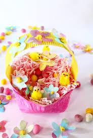easter basket craft adorable paper plate easter basket activity