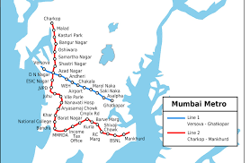 Metro Route Map by Mumbai Metro Route Map Stations Information 2 Anna Pinterest