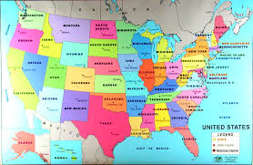 map showing states and capitals of usa map usa with states and capitals