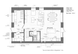 Floor Plans For Large Families by A Duplex Penthouse Designed With Scandinavian Aesthetics