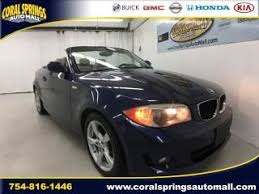 bmw 1 series for sale used 2013 bmw 1 series 128i for sale near fort lauderdale coral