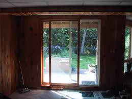Thermal Curtains For Patio Doors by Ideas U0026 Tips Drapes For Sliding Glass Doors With Wood Wall And