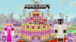 Time Map Minecraft Adventure Time Map Princess Bubblegum U0027s Castle Youtube