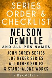 nelson demille series order checklist corey series joe