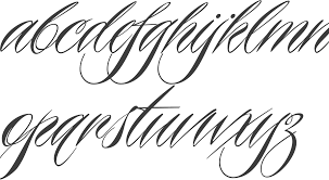 myfonts calligraphic typefaces