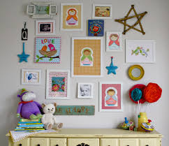 Wall Decorating Cute And Artistic Little Boys Room Wall Decoration Ideas With Rose