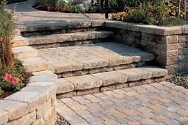 patio stone pavers practical solutions and ideas for paver patio and walkway steps
