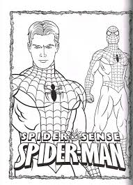 amazing spiderman coloring pages 33 free printable spiderman