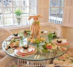 table setting easter spring table setting with a visit from the easter bunny