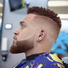 fade beard hairtapers pinterest haircuts
