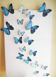 Butterfly Wall Decor Custom Decor