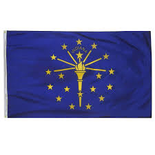 Flag Circle History Of The Indiana State Flag