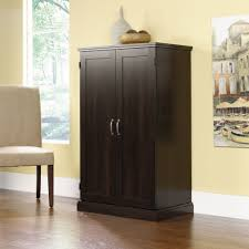 Bedroom Armoire by Amazon Com Brown Storage Desk Armoire Computer Workstation
