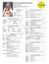 Soccer Player Resume 535 Best For My Kids Images On Pinterest College Football