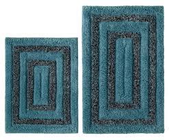 Non Slip Bathroom Rugs by 2pcs Non Slip Bath Rug Mat Bathroom Shower Set Plush 100 Cotton