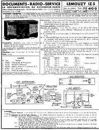 lemouzy f505 radio 1936 sch service manual download schematics