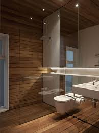 wood tile in shower completed elegant brown wood layered wall