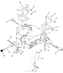 toro 02 11be01 b 115 automatic tractor 1982 parts diagram for 5