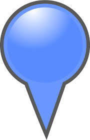 Map Marker Clipart Blue Map Marker
