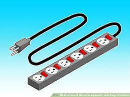 how to protect electronic equipment with surge protectors 6 steps