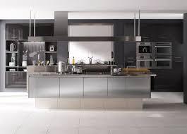 cuisine industrielle inox meuble de cuisine design en inox inspiration cuisine