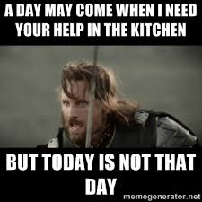 True Life Meme Generator - sometimes certain people in the kitchen on thanksgiving just make