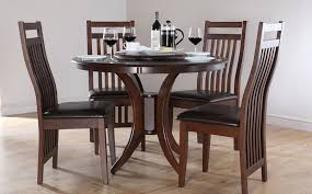 Small Glass Dining Table And 4 Chairs Simple Design Round Dining Table Sets For 4 Innovation Inspiration