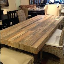 Hardwood Table Tops by Dining Table Dining Table Wooden Top Metal Legs Crackle Glass