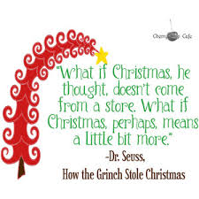 dr suess how the grinch stole quote vinyl wal