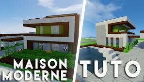 Maison Modern Minecraft by Minecraft Tuto Construction D U0027une Maison Moderne 12x12 Youtube