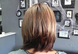 back view of choppy layered haircuts short choppy layers on long hair pic