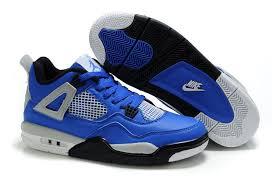 kid jordans kid s kids air 4 blue black grey kids shoes