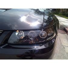 mustang projector headlights 1999 04 ford mustang black ccfl halo projector headlights