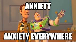 Anxiety Meme - a meme a day helps the anxiety go away blissfulhypocrisy