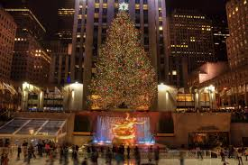 christmas christmas tree rockefeller center decoration the top