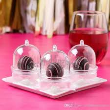 wedding favors wholesale wholesale acrylic clear mini cake stand baby shower wedding favors