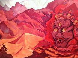 themed paintings one of the tibetan themed paintings picture of n roerich s