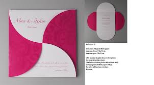 new design business invitation card competitive price business