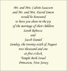 Informal Wedding Invitation Wording Traditional Wording Both Sets Of Parents Co Host Informal