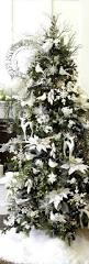 Silver Christmas Tree Baubles - white and silver christmas tree decorations christmas lights