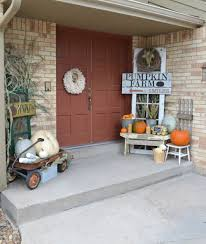 outdoor fall decorations with farmhouse style the country chic