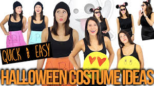 Womens Biker Halloween Costume Quick U0026 Easy Group Halloween Costume Ideas