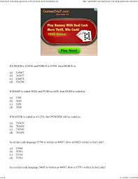 73455473 analytical reasoning questions with solutions problems answe