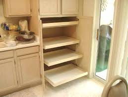 kitchen pantry cabinet with pull out shelves pantry storage drawers after installing pull out shelves for