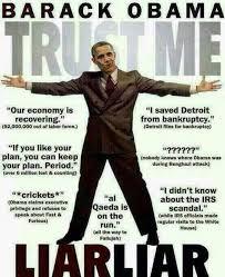No Trust Meme - meme perfectly illustrates why no one should trust obama