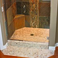 bathroom shower floor ideas bathroom cool ideas for bathroom decoration ideas using cream