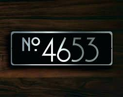 light up address sign light up house numbers solar powered address numbers light up