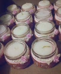recuerdos de bautizado con frascos de gerber velas en frascos gerber js manualidades js pinterest frascos