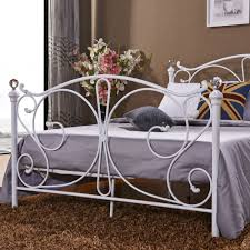 cheap bedroom furniture metal pipe double beds steel metal bed
